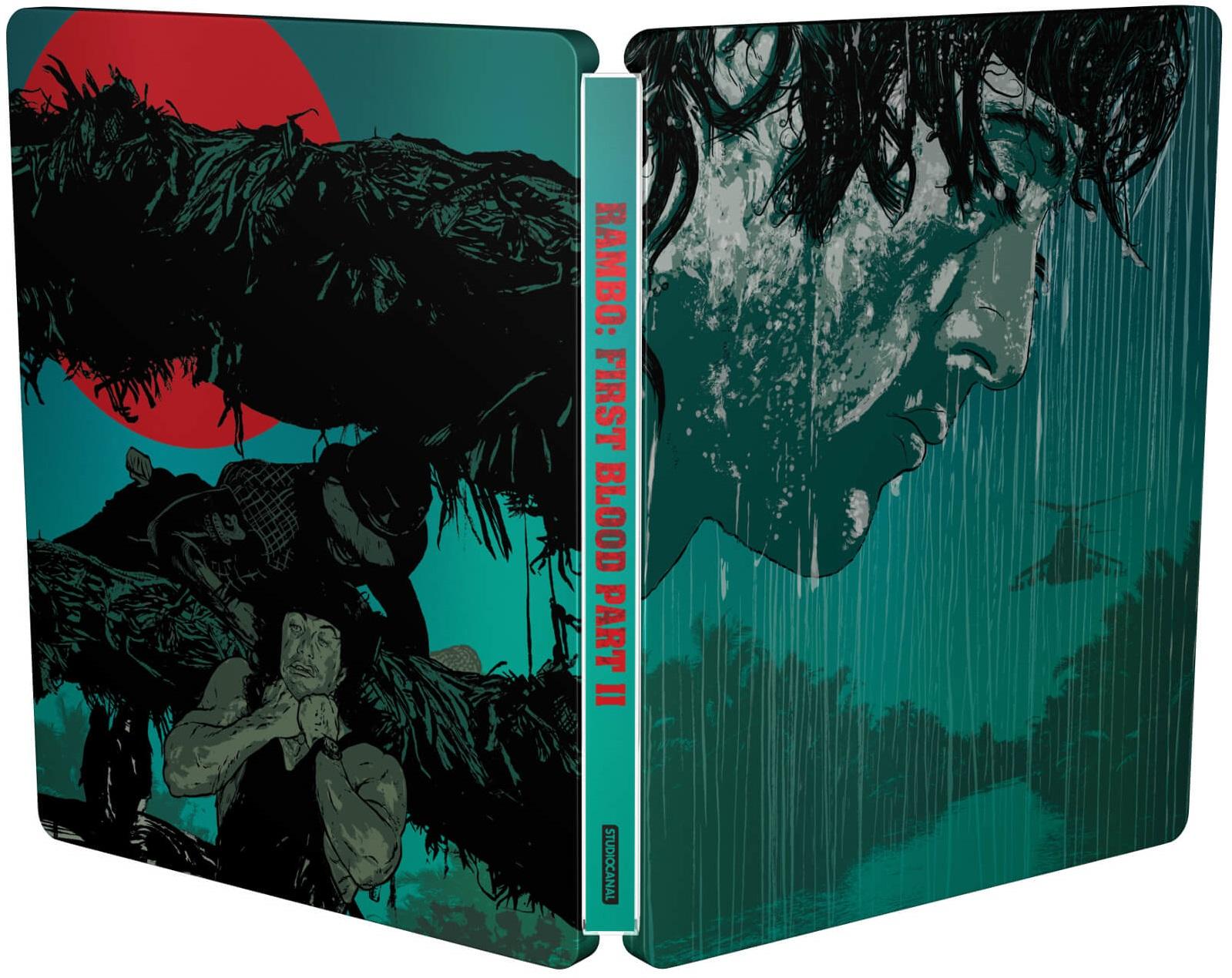 Rambo: First Blood Part II SteelBook open