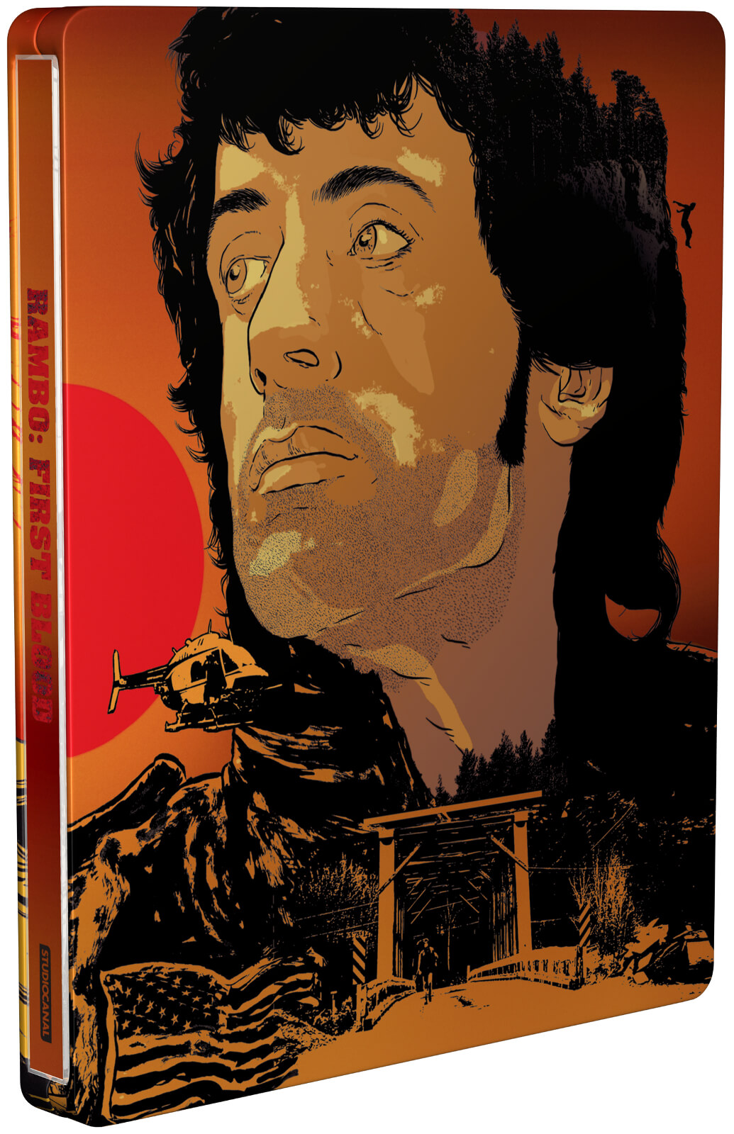Rambo: First Blood SteelBook front