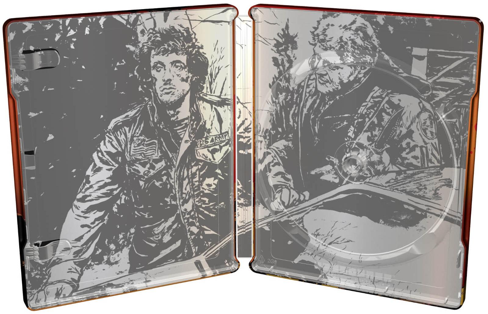 Rambo: First Blood SteelBook inside