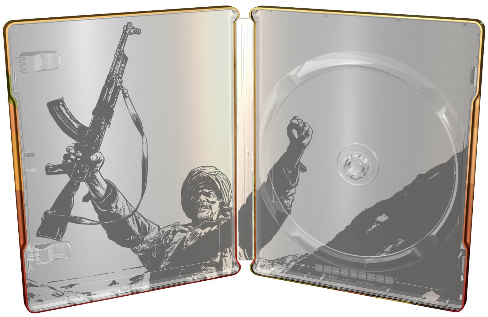 Rambo III SteelBook inside