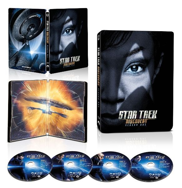 Star Trek: Discovery Season 1 SteelBook