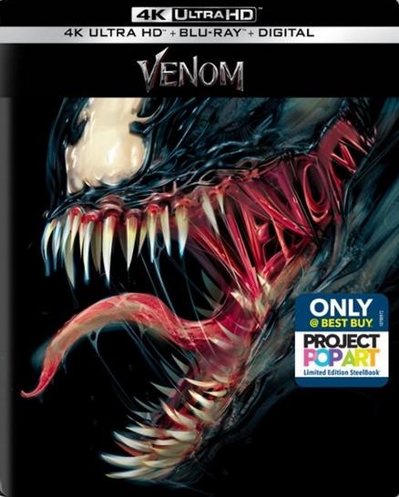 Venom UHD Blu-ray SteelBook