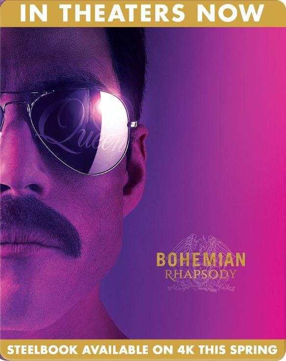 Bohemian Rhapsody SteelBook temp image