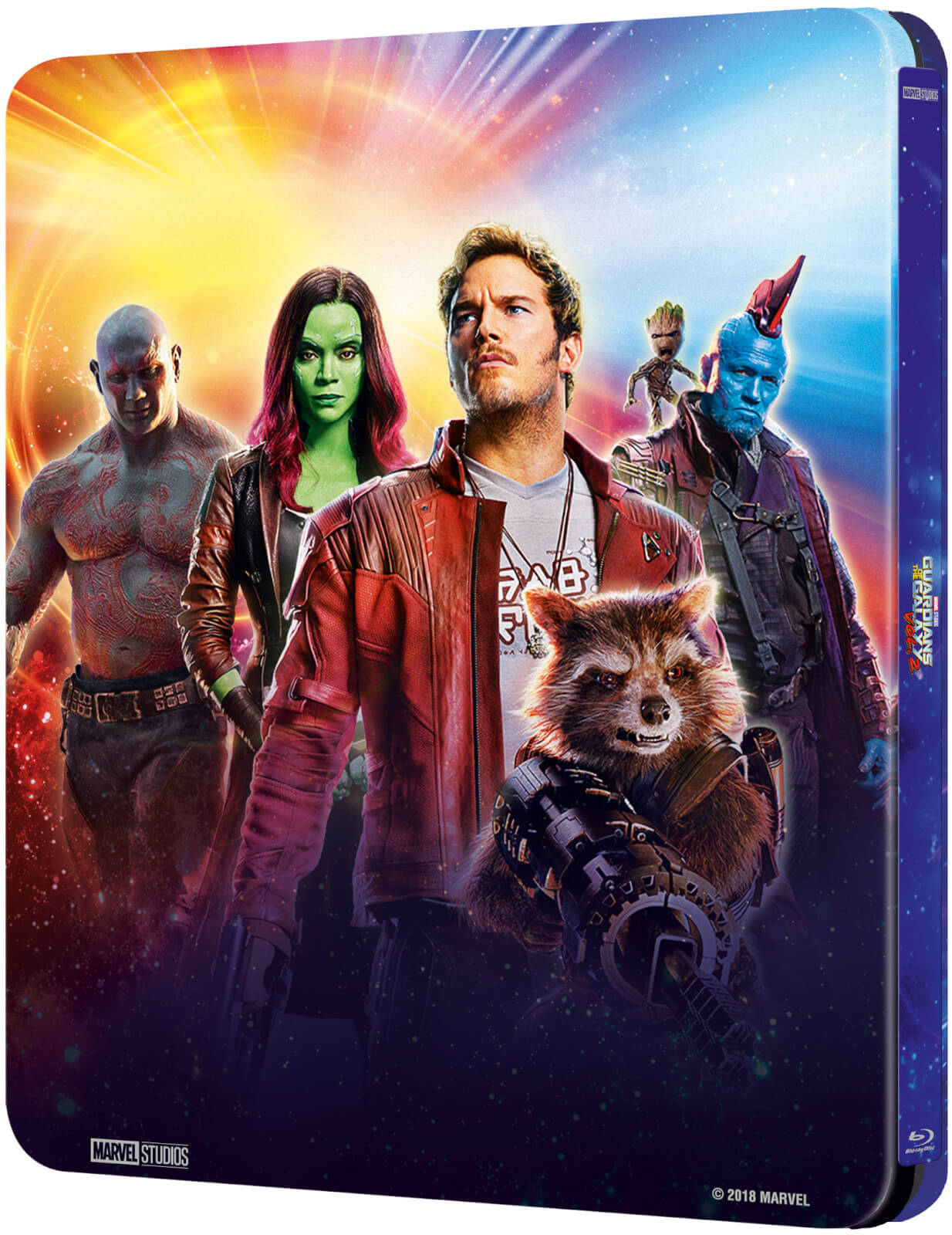 Guardians of the Galaxy Vol. 2 SteelBook back