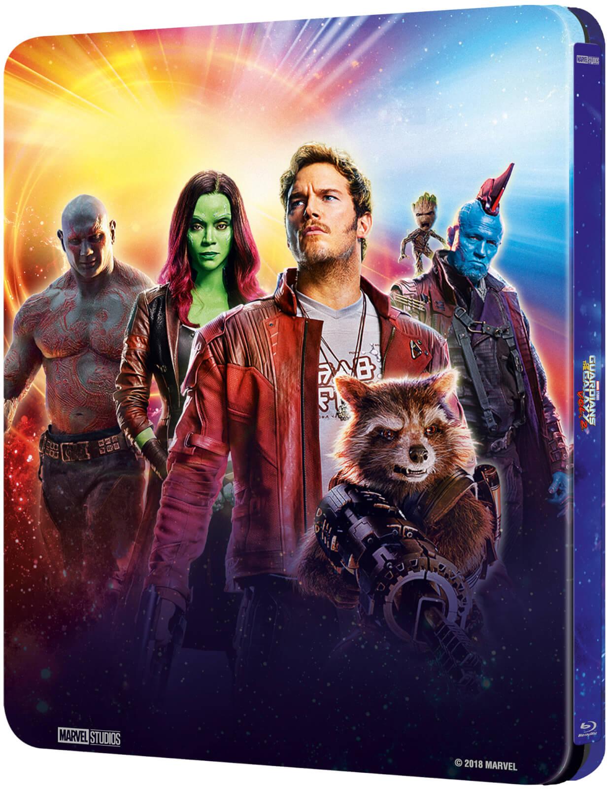 Guardians of the Galaxy Vol. 2 SteelBook back