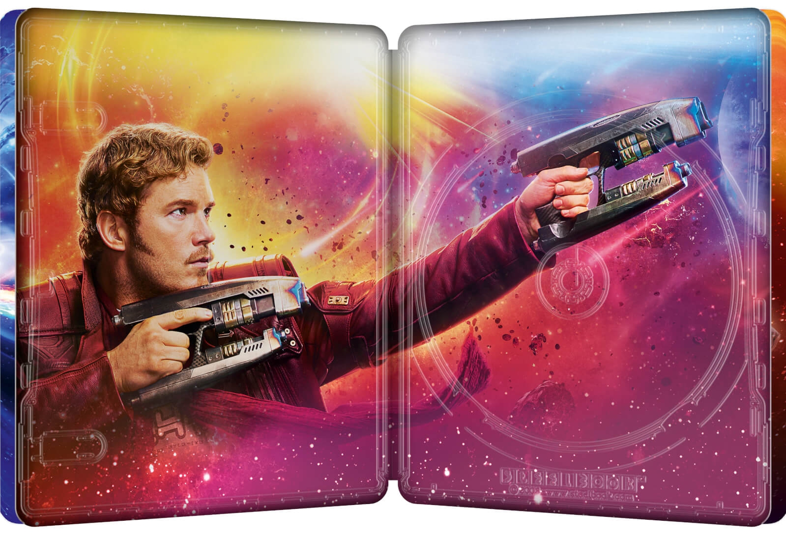 Guardians of the Galaxy Vol. 2 SteelBook inside