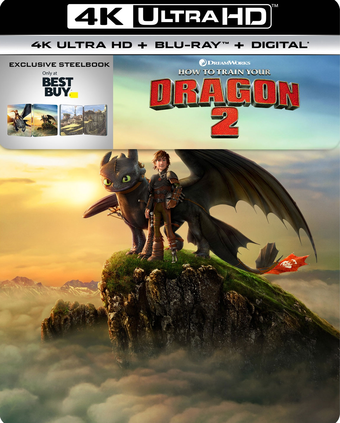 How to Train Your Dragon 2 UHD SteelBook
