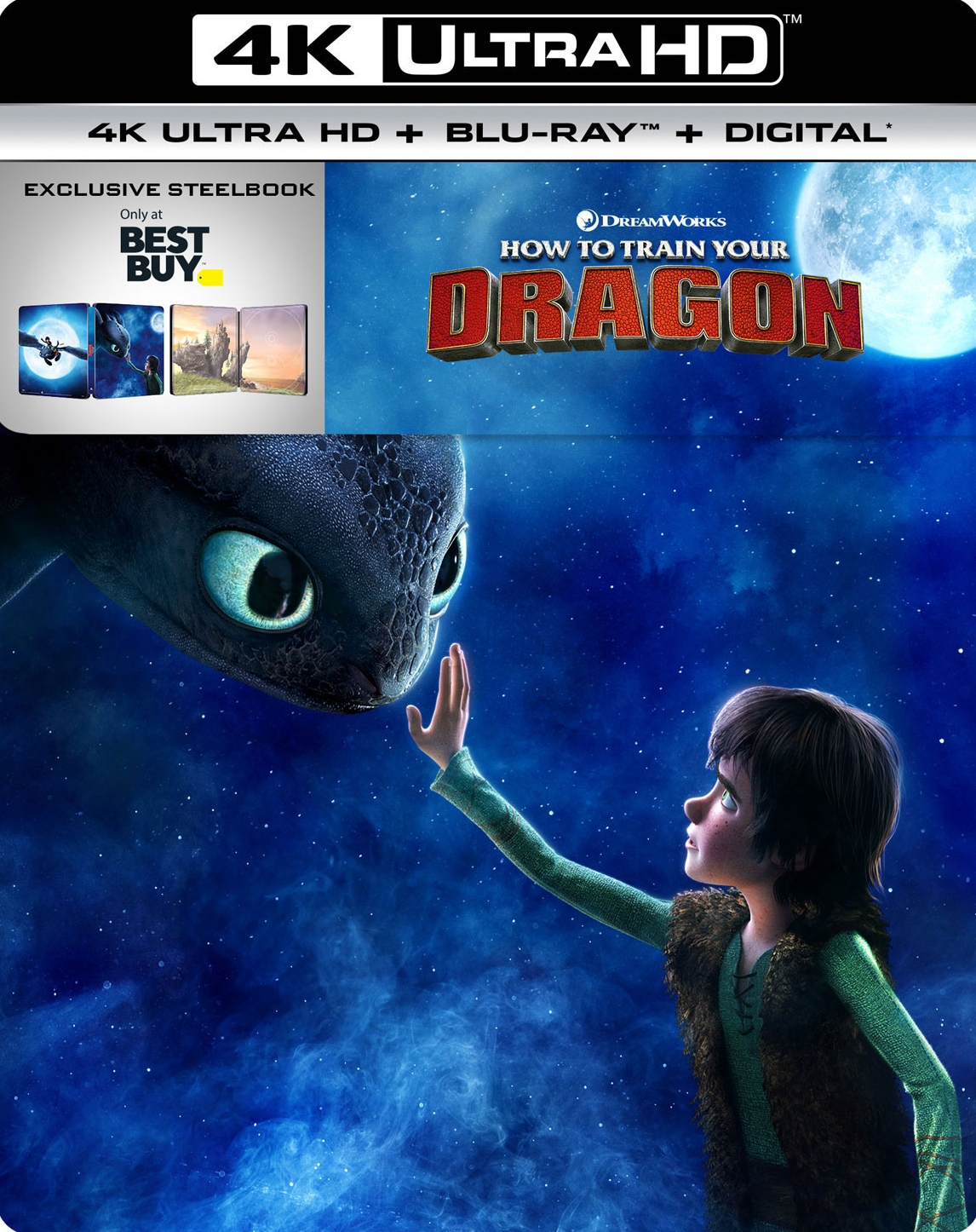 How to Train Your Dragon UHD SteelBook