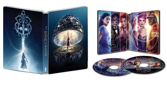 The Nutcracker and the Four Realms UHD SteelBook