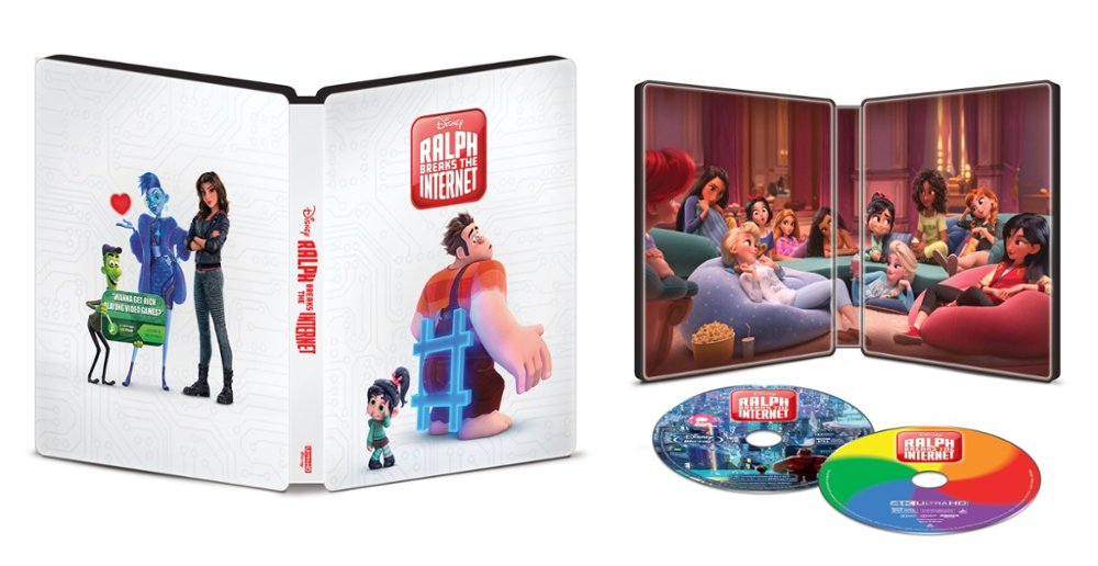 Ralph Breaks the Internet UHD SteelBook