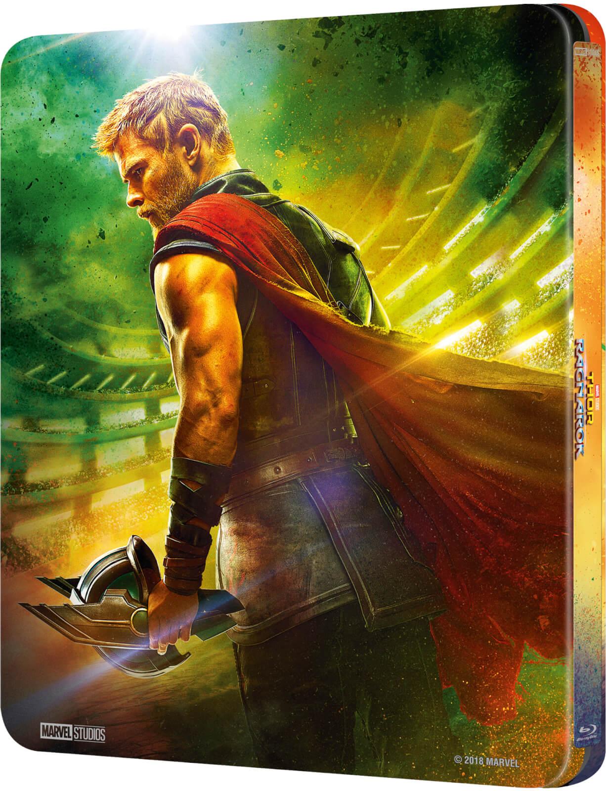 Thor: Ragnarok SteelBook back