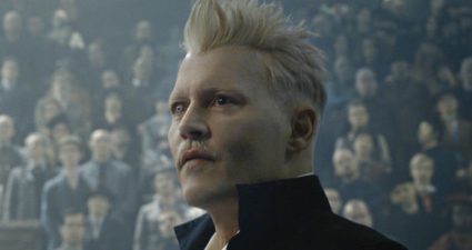 Johnny Depp in Fantastic Beasts 2