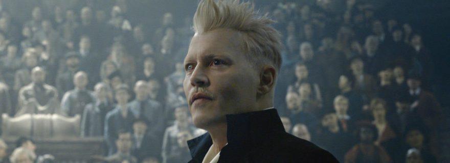 Johnny Depp in Fantastic Beasts 2