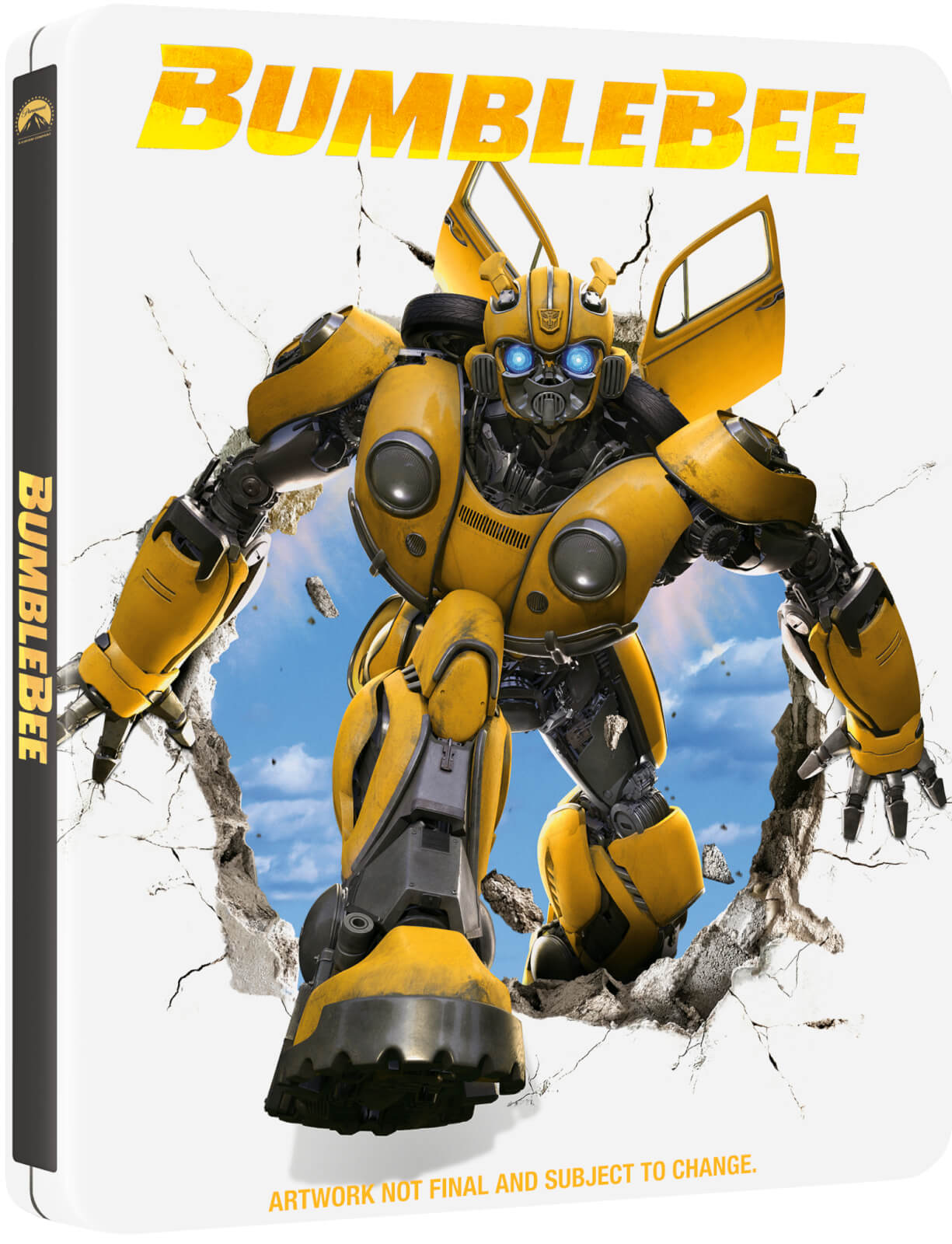 Bumblebee SteelBook temp art