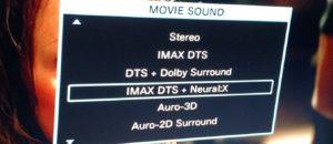 IMAX on DVD