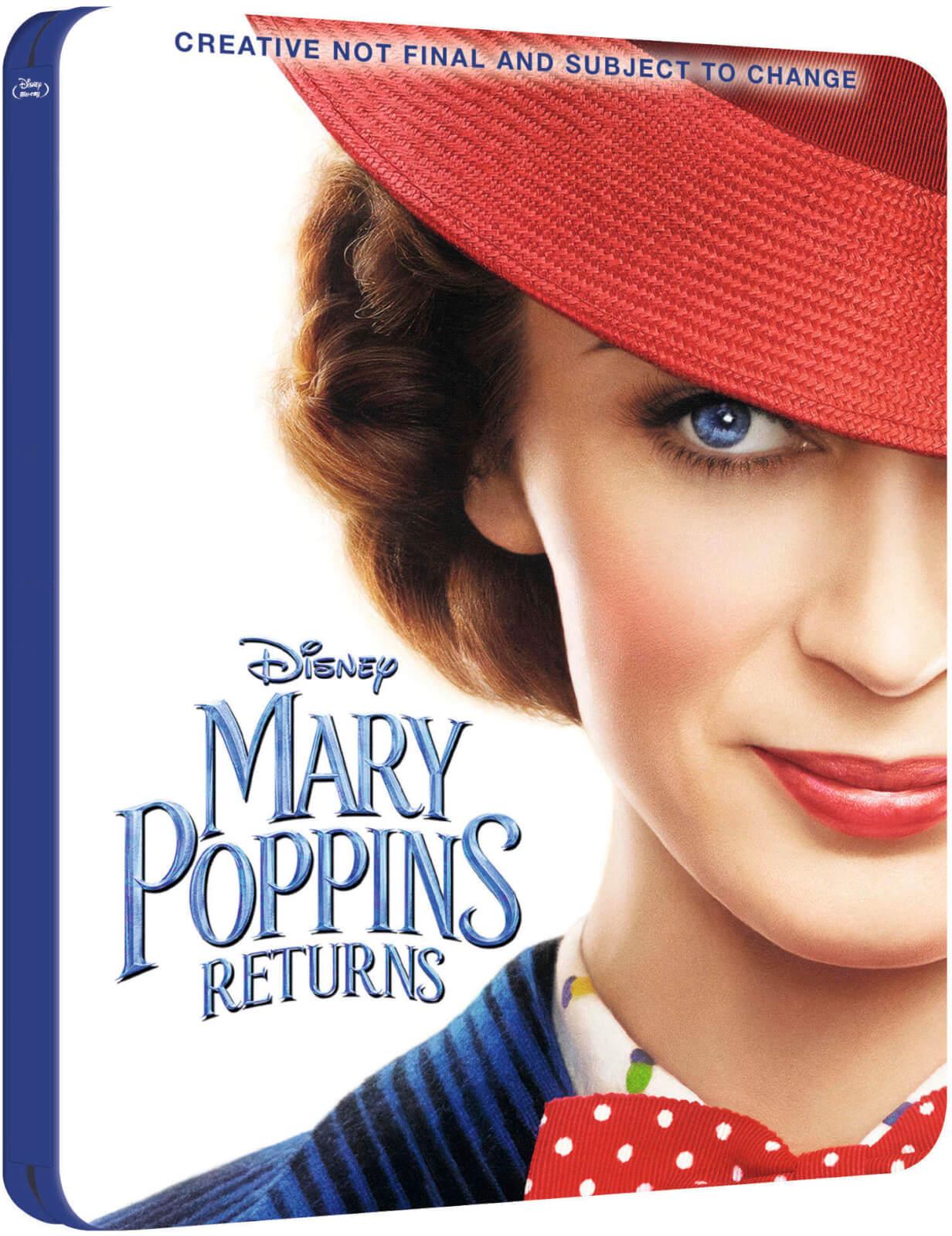 Mary Poppins Returns SteelBook UK temp art