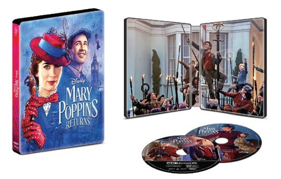 Mary Poppins Returns SteelBook USA