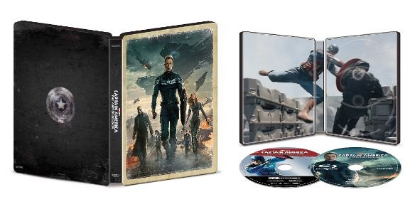 Captain America: The Winter Soldier - 4k UHD SteelBook