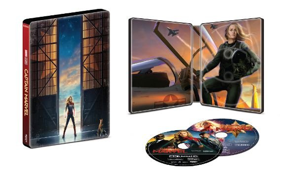 Captain Marvel - 4k UHD SteelBook