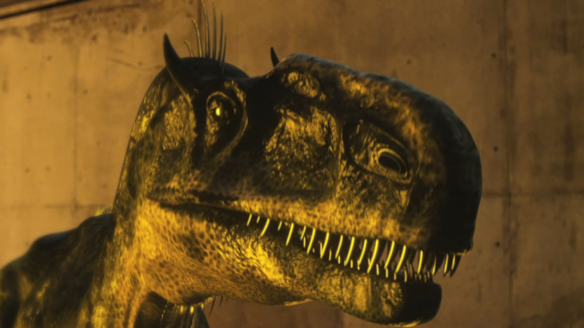 Believe it or not, these are visual effects. They didn't actually clone dinosaurs for this motion picture.