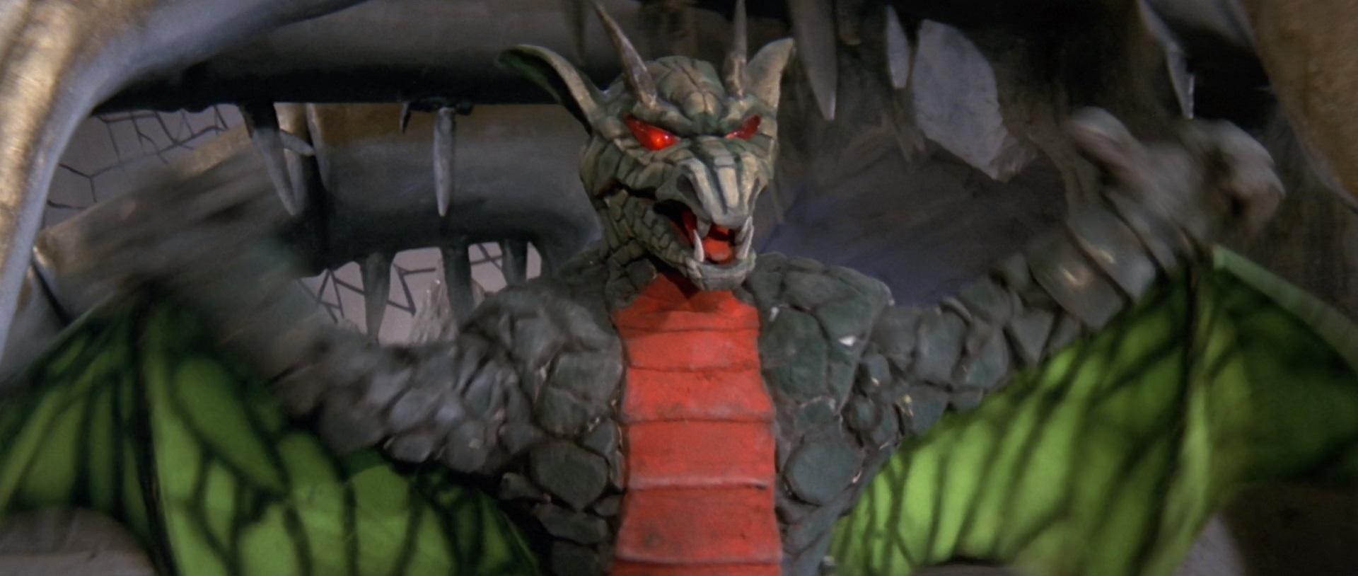 The dragon son of Princess Dragon Mom.