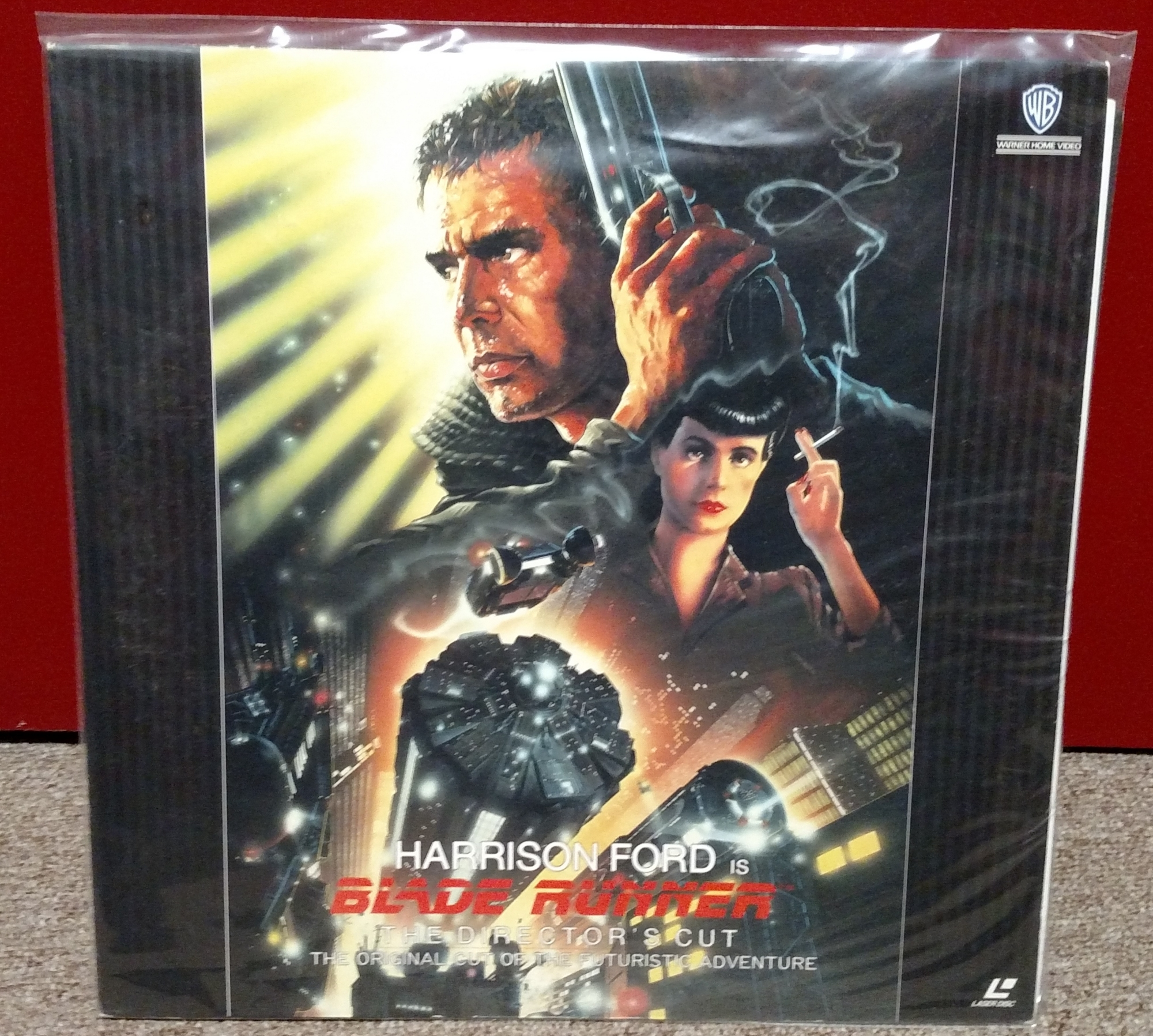 Blade Runner Laserdisc: Director's Cut CLV (Japan)