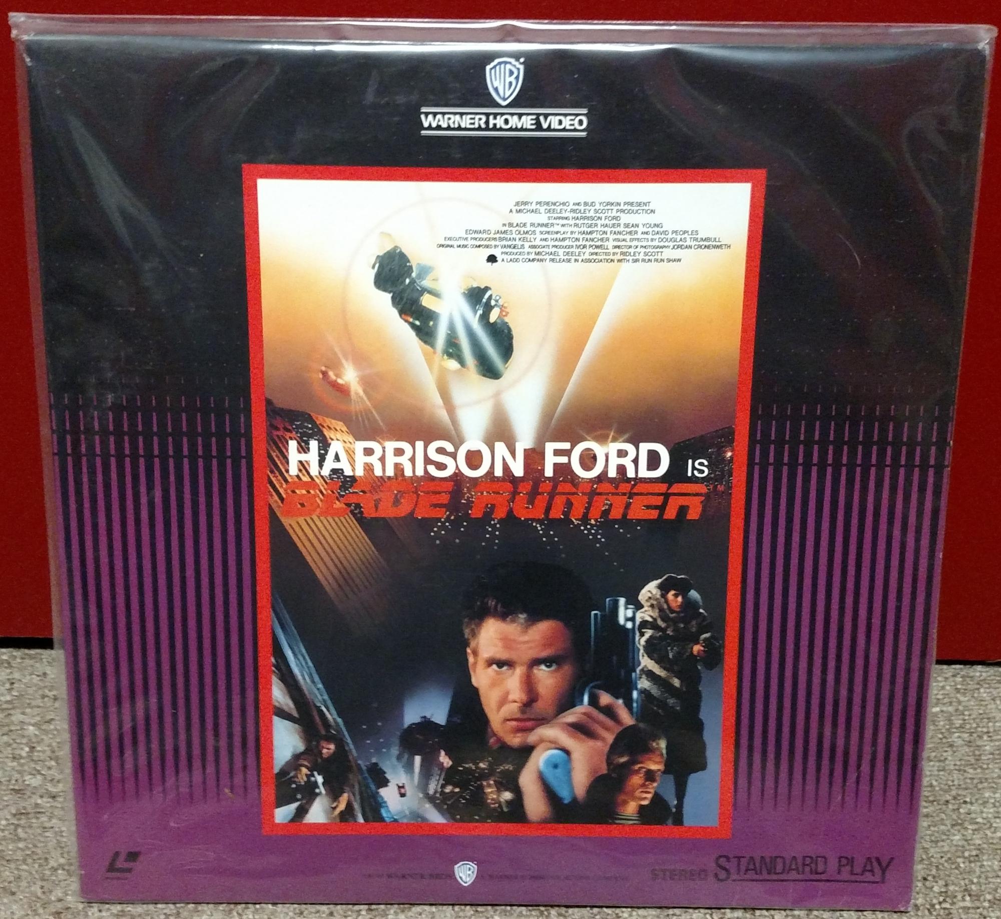 Blade Runner Laserdisc: WB Japan 1987