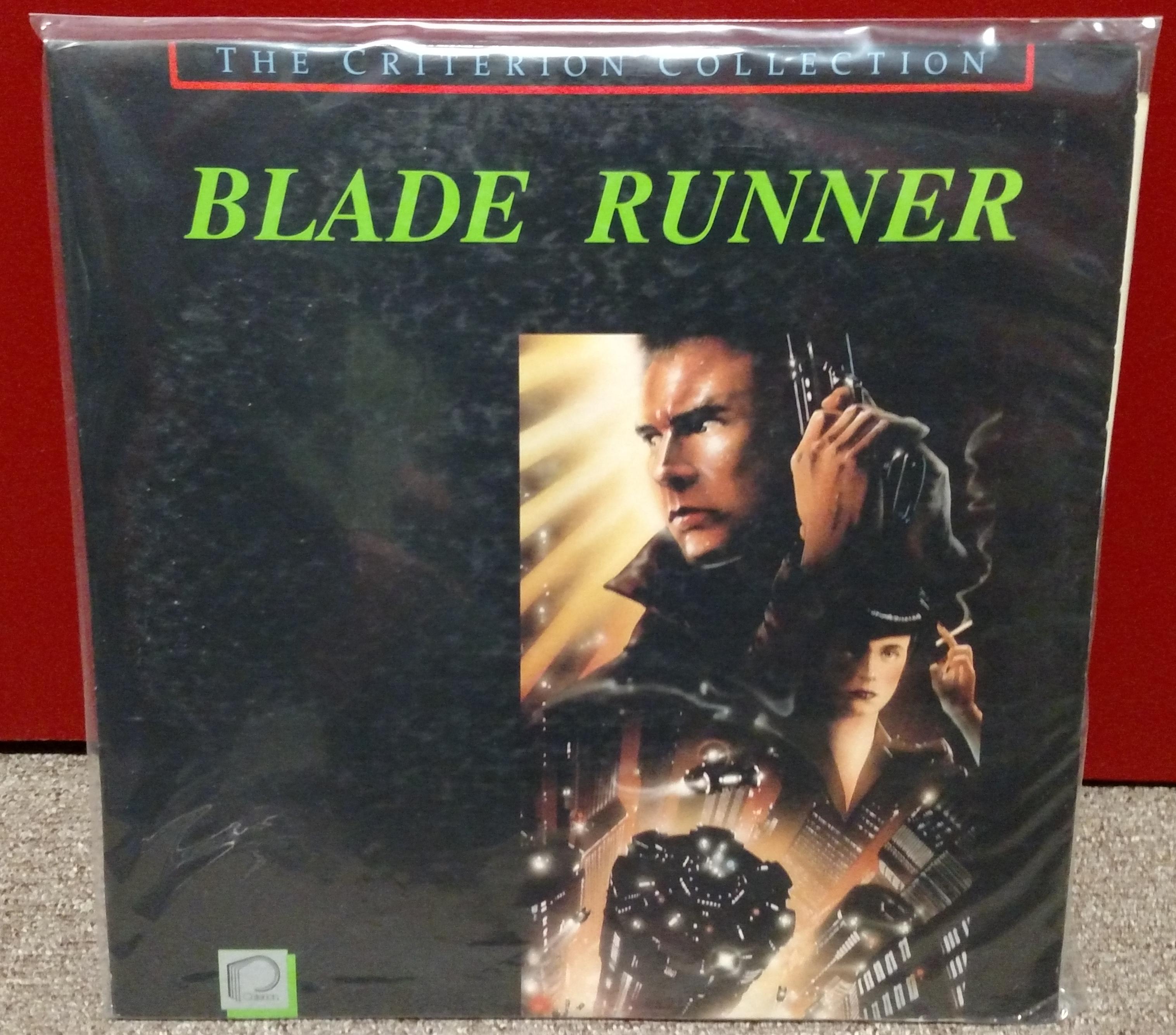 Blade Runner Laserdisc: Criterion 1987