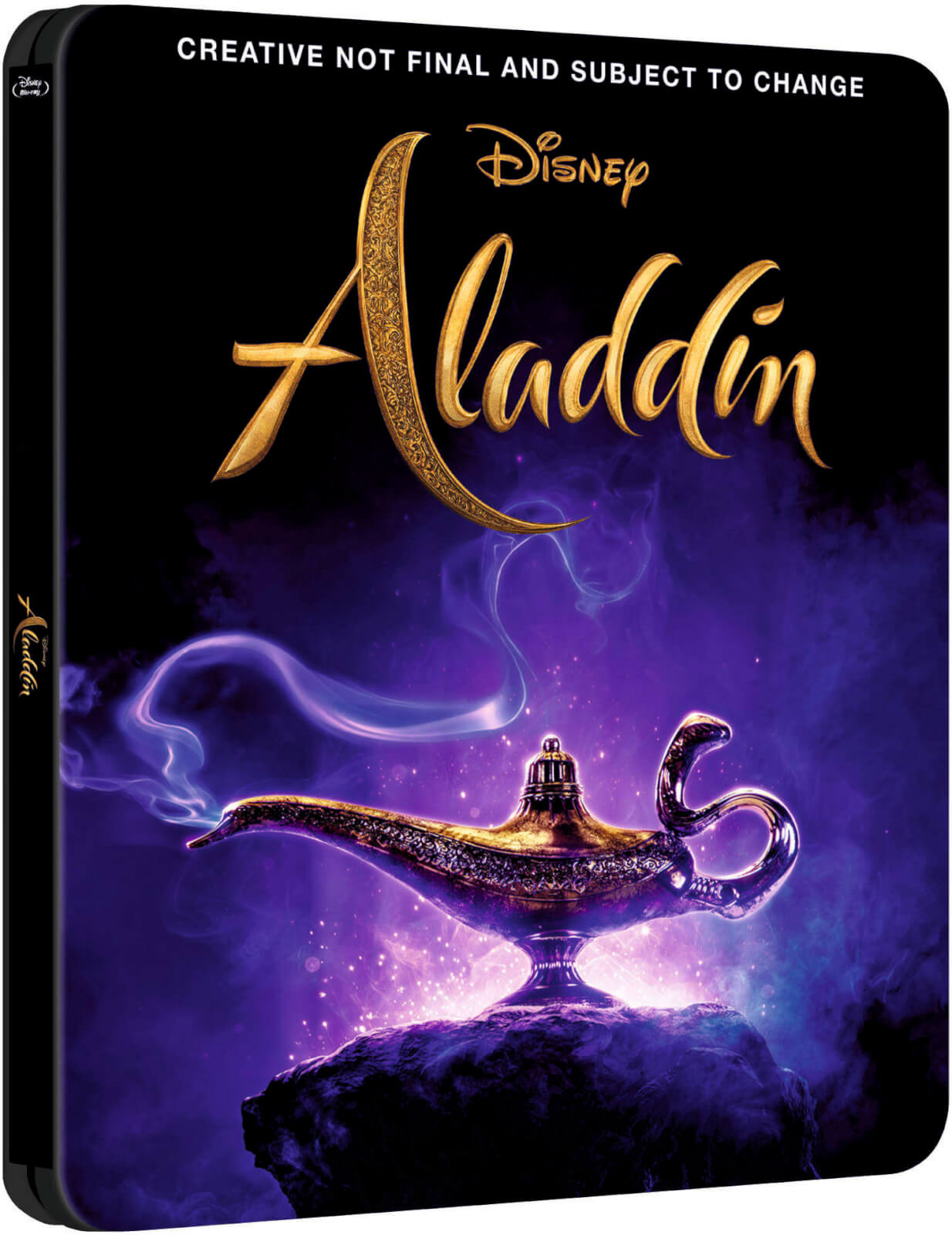 Aladdin (2019) 4k SteelBook front
