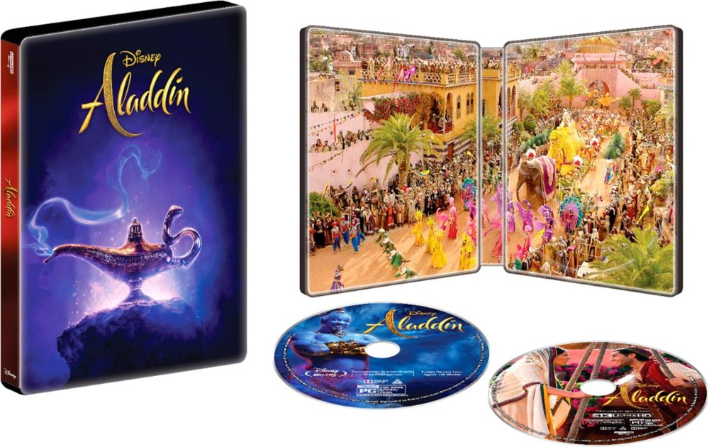 Aladdin (2019) 4k SteelBook
