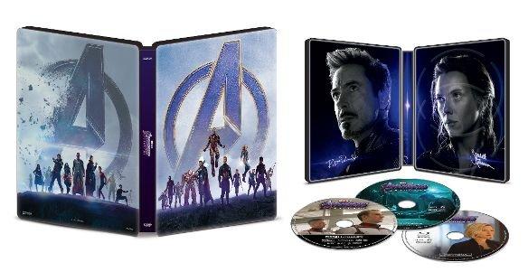 Avengers: Endgame 4k SteelBook