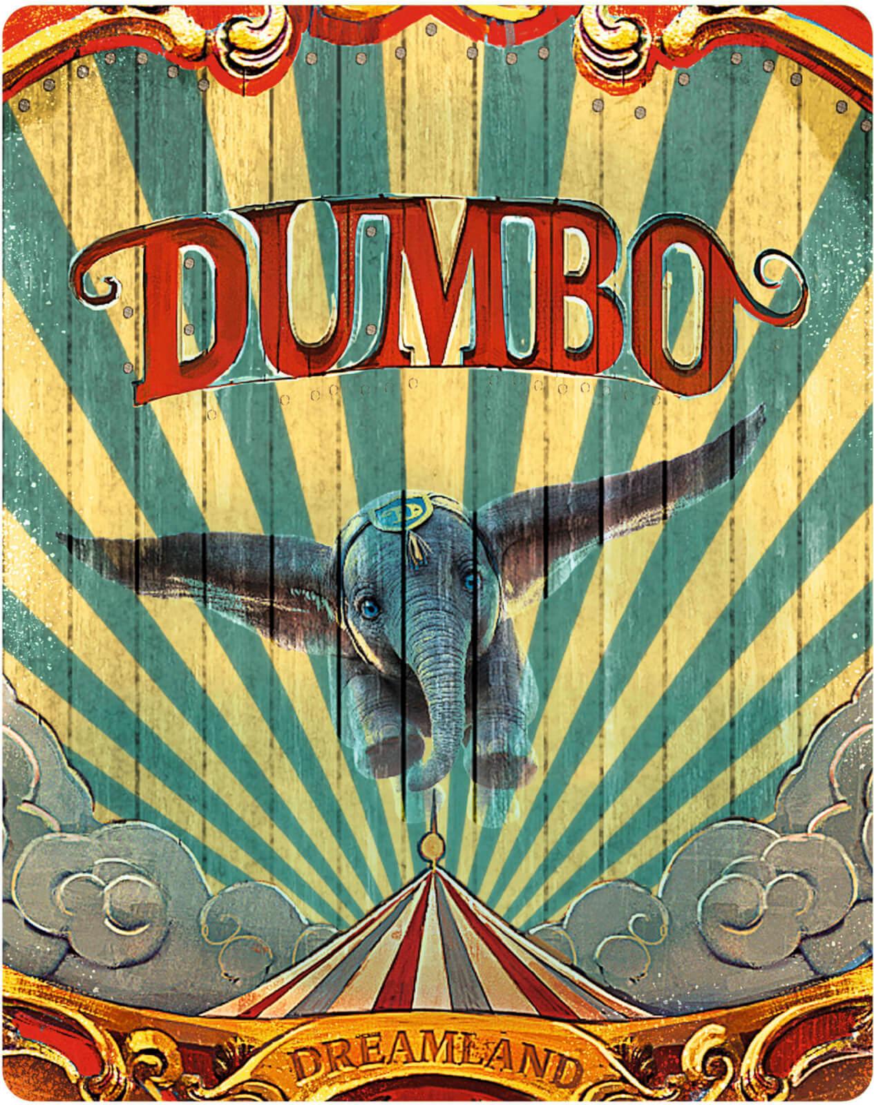 Dumbo (2019) 4k SteelBook front