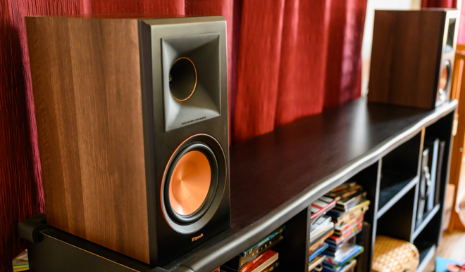Klipsch Reference Premiere Speakers Review product shot -- no grilles