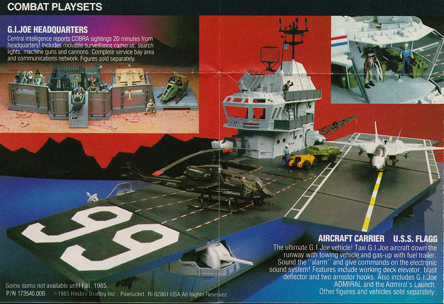 G.I. Joe Catalog: U.S.S. Flagg - Image from yojoe.com