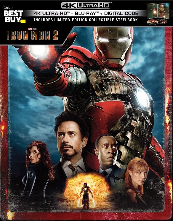 Iron Man 2 UHD SteelBook