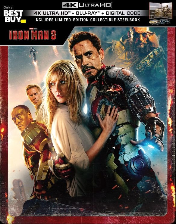 Iron Man 3 UHD SteelBook