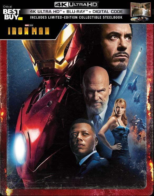 Iron Man UHD SteelBook
