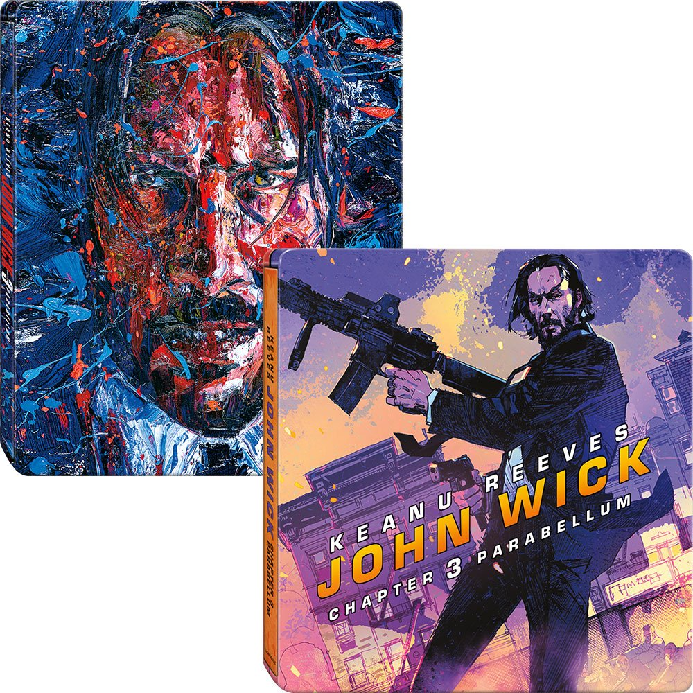 John Wick: Chapter 3 SteelBook + Mini SteelBook