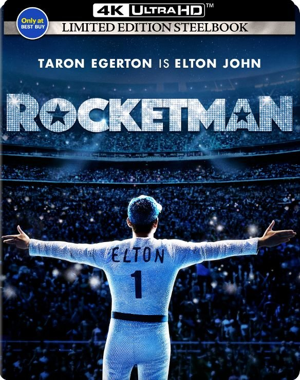 Rocketman Ultra HD SteelBook