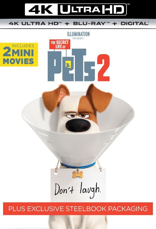 The Secret Life of Pets 2 Ultra HD SteelBook