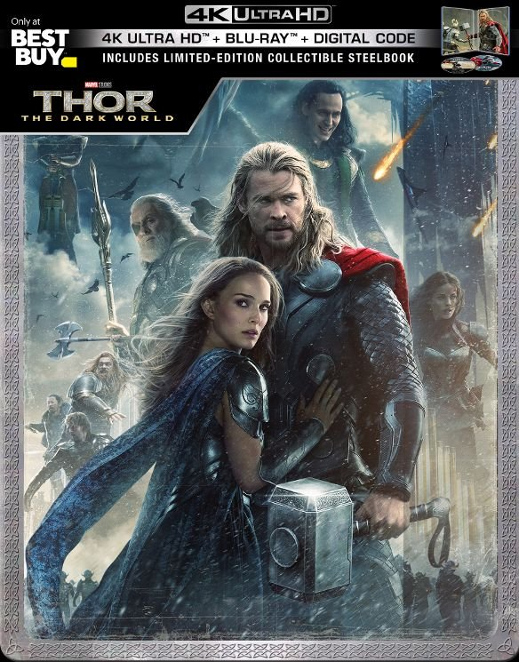 Thor: The Dark World UHD SteelBook