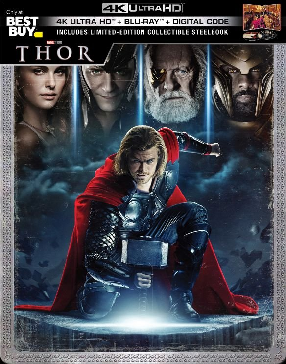 Thor UHD SteelBook