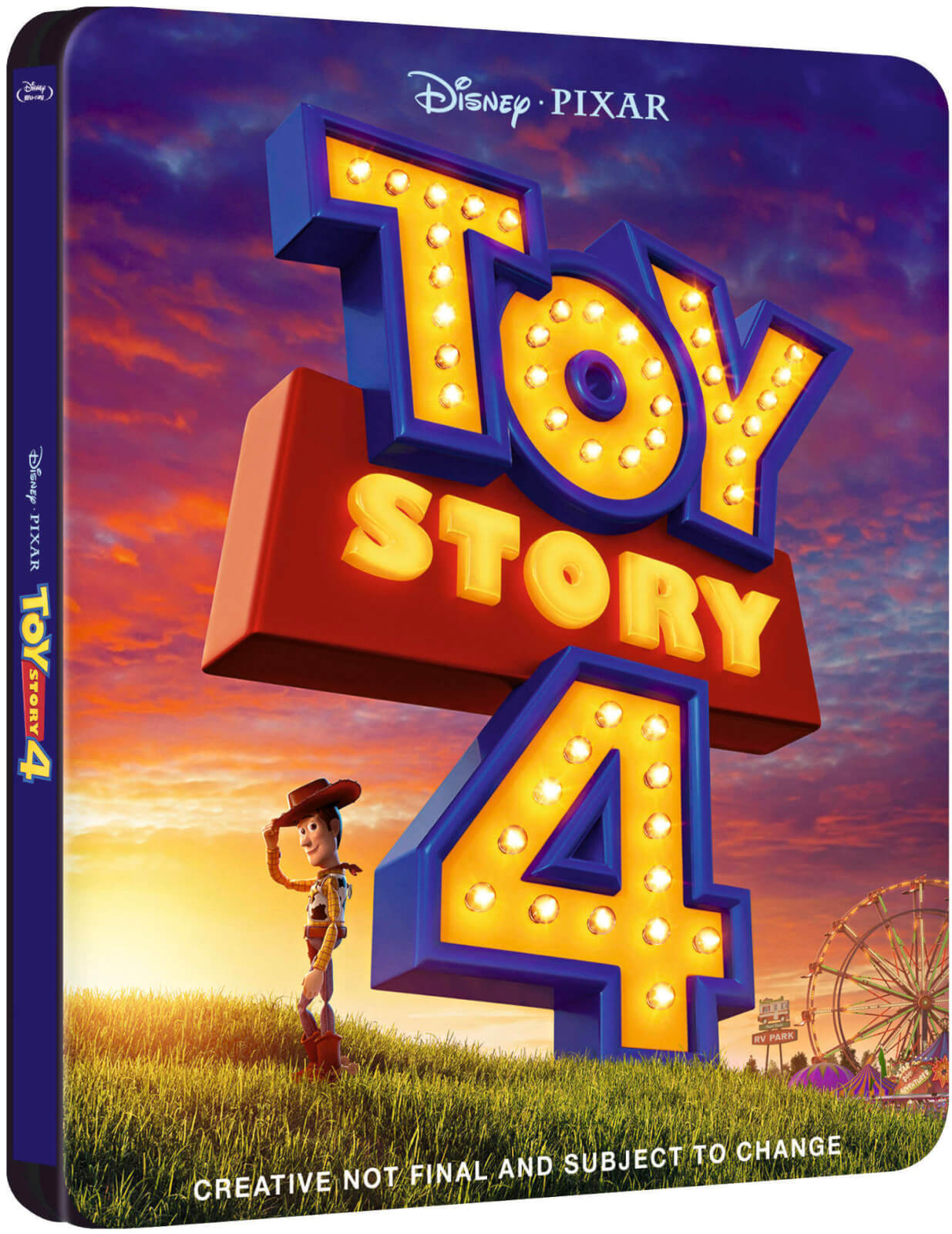 Toy Story 4 UK SteelBook temp art