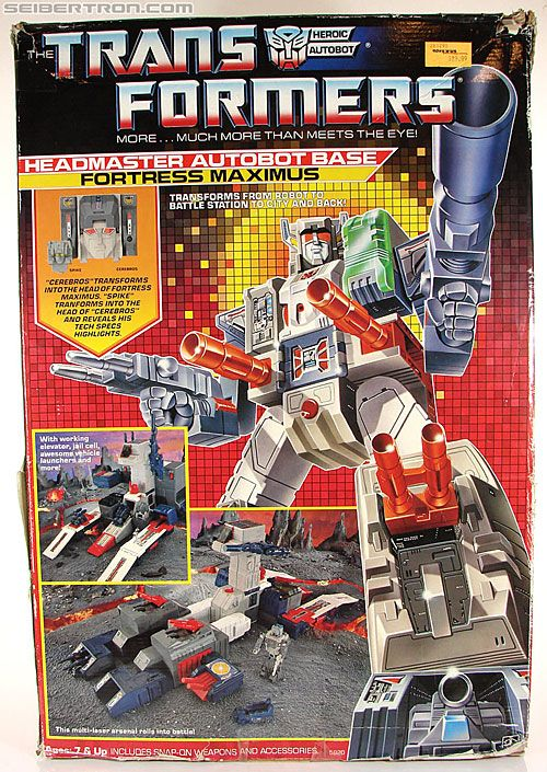 Fortress Maximus - Image from seibertron.com