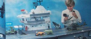G.I. Joe USS Flagg Aircraft Carrier