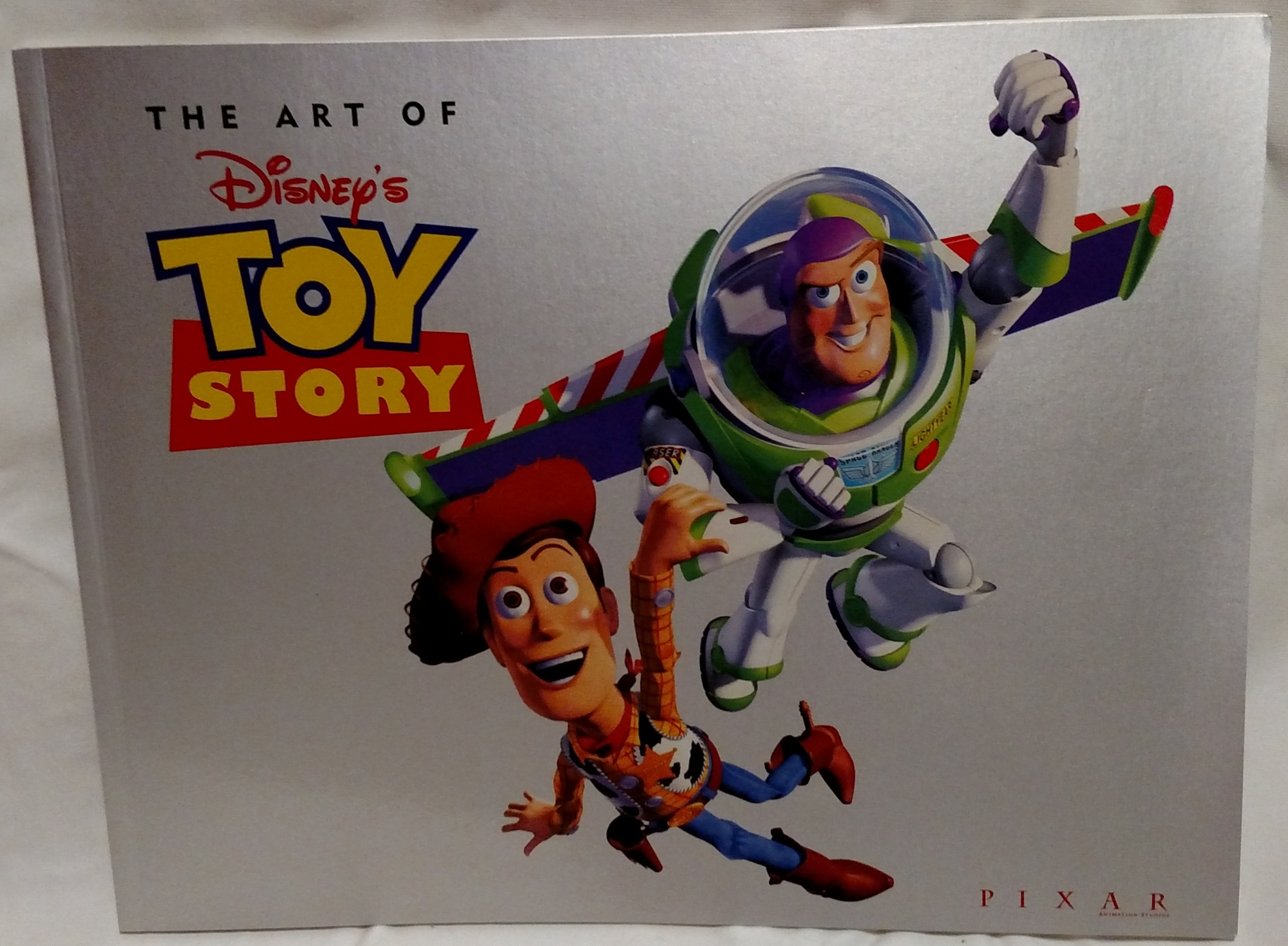 Toy Story Laserdisc - Art Book