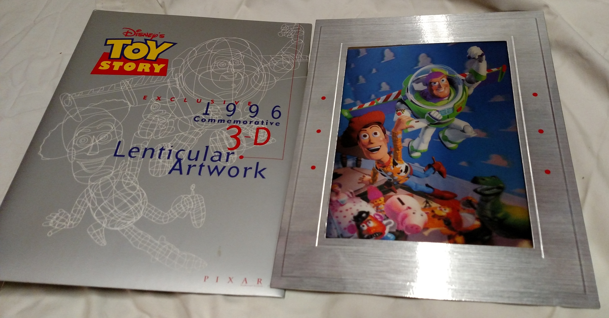 Toy Story Laserdisc - Lenticular Art