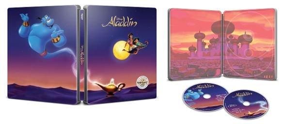 Aladdin (1992) 4k UHD SteelBook