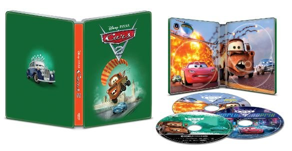 Cars 2 4k UHD SteelBook