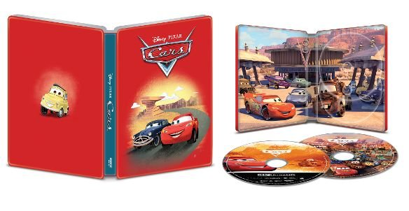 Cars 4k UHD SteelBook
